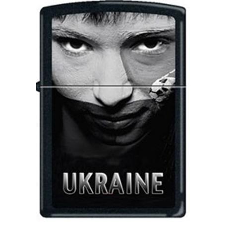 Зажигалка Zippo UKRAINE SOCCER FACE SEPIA 218USS