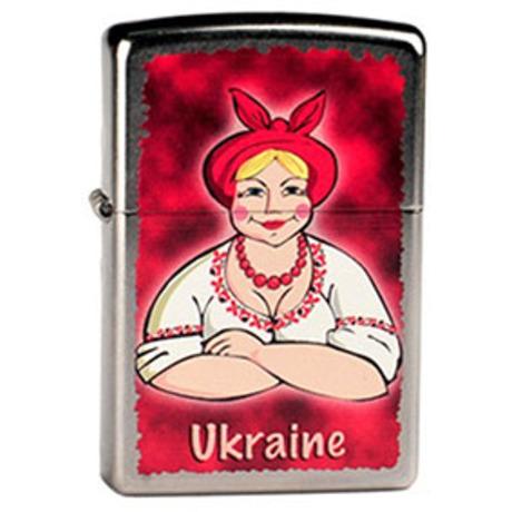 Зажигалка Zippo UKRAINE LOVE 207UL