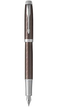 Ручка перьевая Parker IM 17 Premium Brown CT FP F 24 511