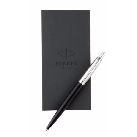 Набор Parker JOTTER 17 Bond Street Black CT BP + блокнот в подар.уп. 16 232b17