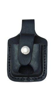 Чехол Zippo черный с прорезью для извлечения зажигалки LPTBK