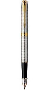 Ручка Parker Sonnet 04 Tartan GT FP F 85 512G