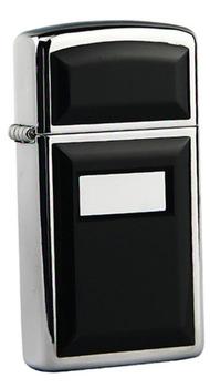 Зажигалка Zippo узкая ULTRALITE BLACK 1655
