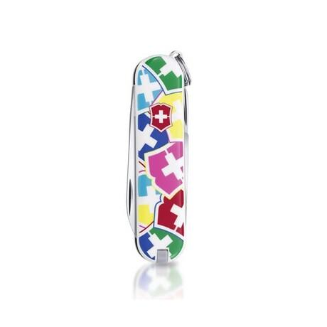 """Складной нож Victorinox CLASSIC """"VX Colors"""" 58мм 7 предметов Vx06223.841"""