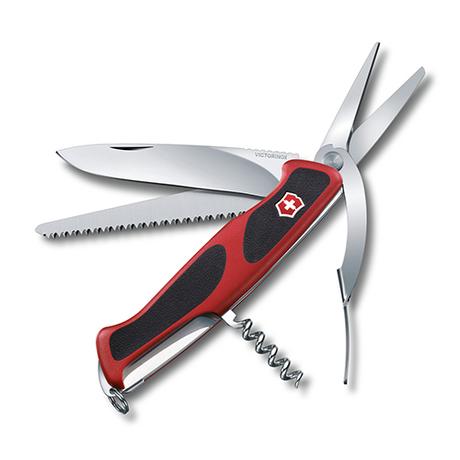 Складной нож Victorinox RANGERGRIP 71 Gardener 130мм 7 предметов Vx09713.C