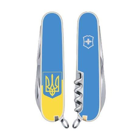 Складной нож Victorinox SPARTAN UKRAINE 91мм 12 предметов желто-голубой Vx13603.7R3