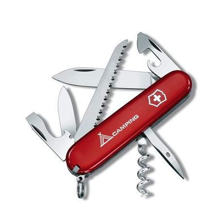 """Складной нож Victorinox CAMPER 91мм 13 предметов Лого """"Camping"""" Vx13613.71"""