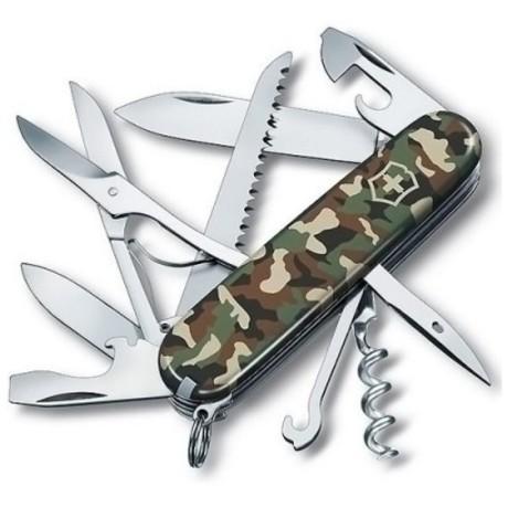 Складной нож Victorinox HUNTSMAN 91мм 15 предметов Vx13713.94