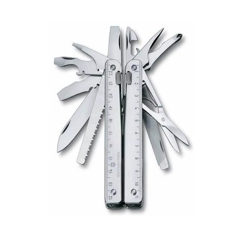 Складной нож Victorinox SWISSTOOL SPIRIT 105мм 27 предметов поворотный чехол Vx30227.L1