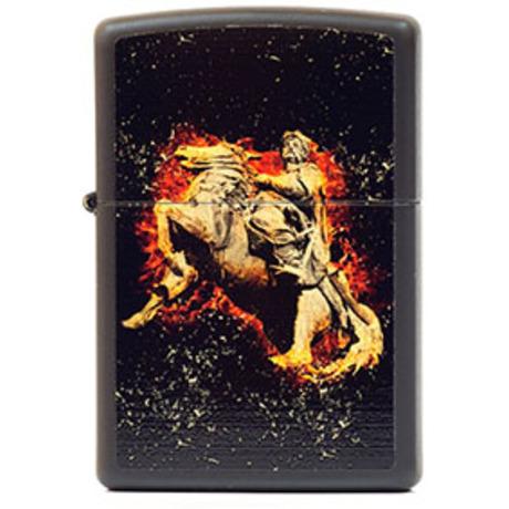 Зажигалка Zippo FLAMING COSSACK 218FC