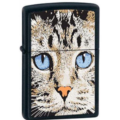 Зажигалка Zippo 218 CAT'S FACE 28040