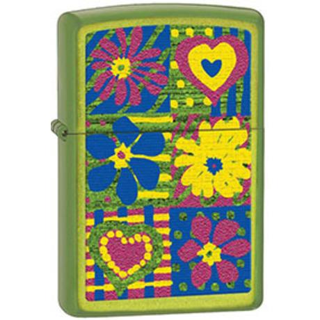 Зажигалка Zippo 24513 FUNKY FLOWERS 28057