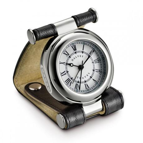 Часы дорожные Dalvey Travel SP в черной коже D01588