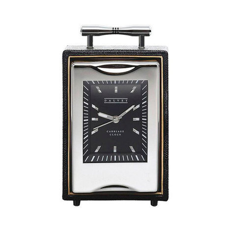 Часы настольные Dalvey Carriage в коже D00516