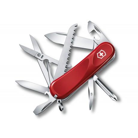 EVOLUTION 18 85мм 4сл 15 предметов красный отвертка ножн пила Vx24913.E