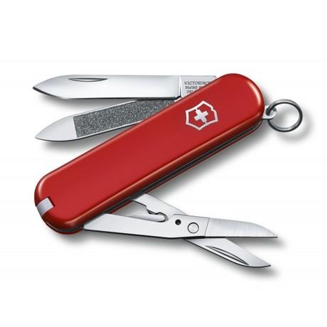 EXECUTIVE 81 65мм 1сл 7 предметов красный ножн Vx06423