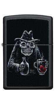 Зажигалка Zippo 218 Bar Skull Design 49254