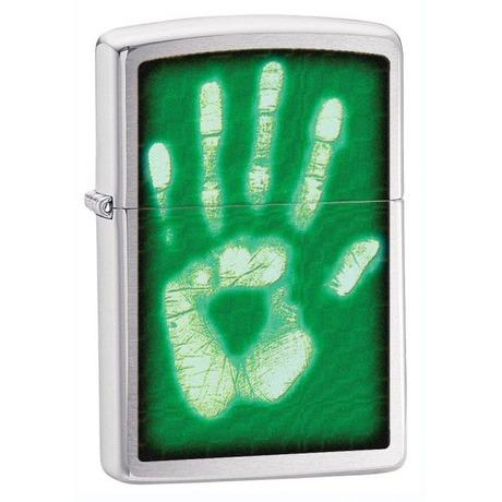 Зажигалка Zippo 200 IDENTITY HAND PRINT 28283