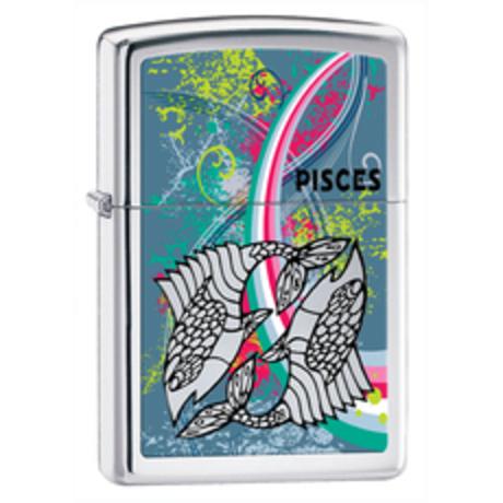 Зажигалка Zippo 250 ZODIAC PISCES 24930