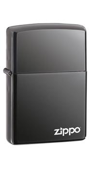 Зажигалка Zippo BLACK ICE w/ZIPPO LOGO  Laser 150 ZL