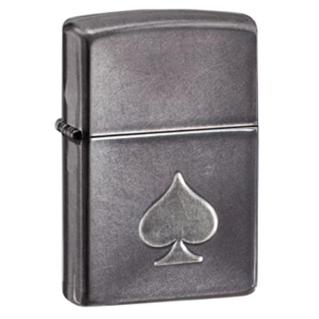 Зажигалка Zippo Stamped Spade 28379