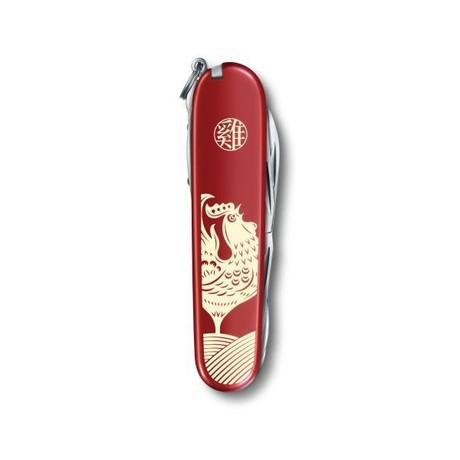 HUNTSMAN Year of the Rooster 91мм 15 предметов красный штоп ножн пила крюк Vx13714.E6