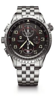 Мужские часы Victorinox AIRBOSS Mechanical Chrono M9 V241722