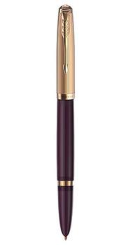 Перьевая ручка Parker 51 Premium PLUM GT FP F 57 111