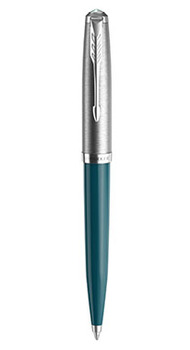Шариковая ручка Parker 51 TEAL BLUE CT BP 55 332