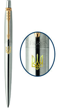 Шариковая ручка Parker JOTTER 17 SS GT BP Трезубец зол.16 032_R
