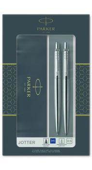 Набор Parker ручка+карандаш JOTTER 17 SS CT BP+PCL в подар.уп. DUOSETS 16 172b19