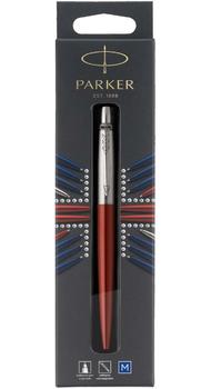 Шариковая ручка Parker JOTTER 17 Kensington Red CT BP в подарочной упаковке LONDON 16 432bL