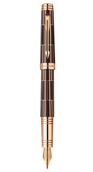 Перьевая ручка Parker PREMIER Luxury Brown PGT F 89912K
