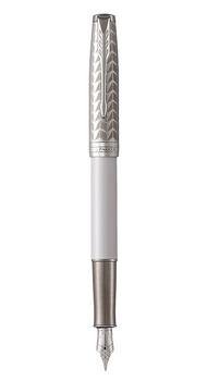 Ручка перьевая Parker SONNET 17 Metal & Pearl Lacquer CT FP F 87 411