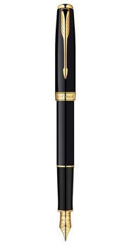 Ручка Parker Sonnet 08 Laque Black FP F 85 812
