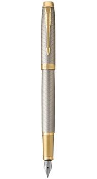 Перьевая ручка Parker IM 17 Premium Warm Silver GT FP F 24 111