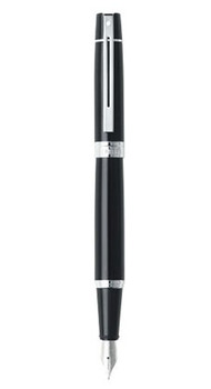 Ручка Sheaffer Gift Collection 300 Glossy Black NT FP M Sh931204