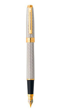PRELUDE Signature Silverplate Snakeskin GT FP M Sheaffer PRELUDE Brilliant Silver PVD CT RB Sh913315