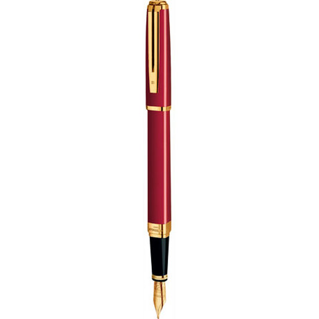 Ручка Waterman EXCEPTION Slim Red GT FP F 11031