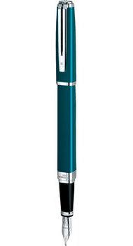 Ручка Waterman EXCEPTION Slim Green ST FP F 11032