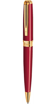Ручка Waterman EXCEPTION Slim Red GT BP 21031