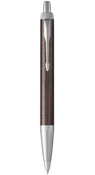Шариковая ручка Parker IM 17 Premium Brown CT BP 24 532