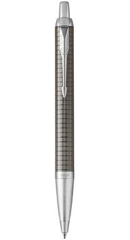 Шариковая ручка Parker IM 17 Premium Dark Espresso Chiselled CT BP 24 332