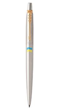 Шариковая ручка Parker JOTTER 17 SS GT BP Флаг желто-синий 16 032_R8