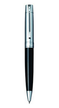 Ручка шариковая Sheaffer Gift Collection 300 Chrome/Glossy Black CT BP Sh931425