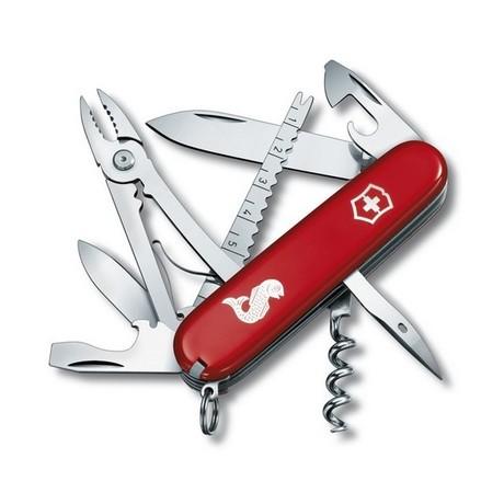 ANGLER 91мм 18 предметов красный.лого штоп плоск рыба Vx13653.72