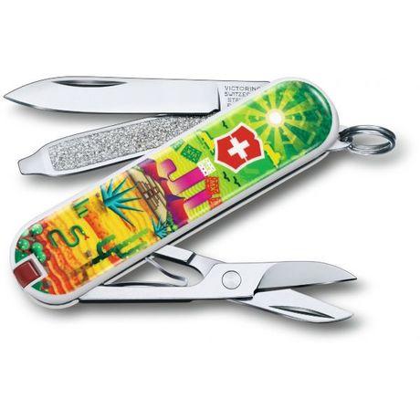 "Складной нож Victorinox CLASSIC LE ""Mexican Sunset"" 58мм 1сл 7функ цветн чехол ножн Vx06223.L1807"
