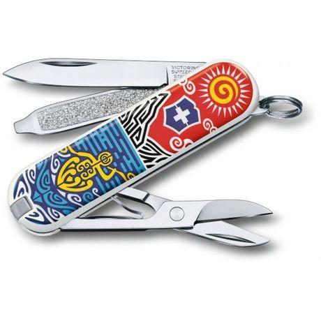 """Складной нож Victorinox CLASSIC LE """"New Zealand"""" 58мм 1сл 7функ цветн чехол ножн Vx06223.L1806"""