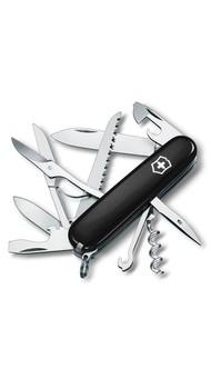 Складной нож Victorinox HUNTSMAN 91мм 15 предметов Черный Vx13713.3