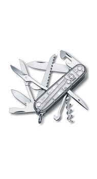 Складной нож Victo rinox HUNTSMAN 91мм 15 предметов Прозрачный серебистый Vx13713.T7